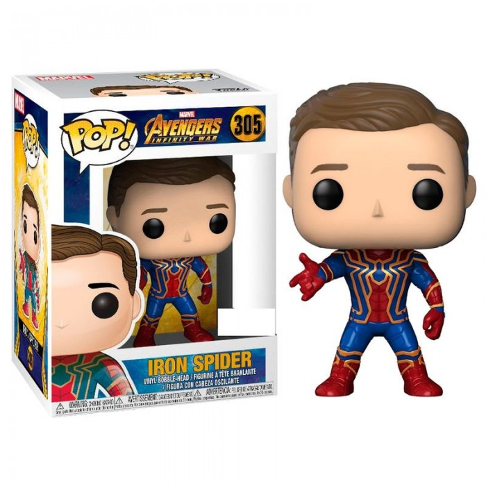 Funko Pop! Iron Spider Exclusivo -...
