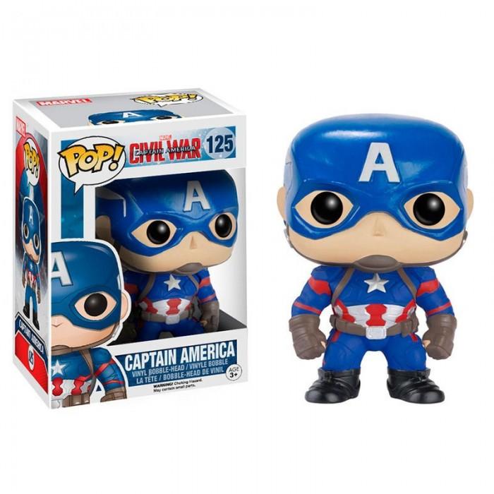 Funko Pop! Capitán América -Marvel...
