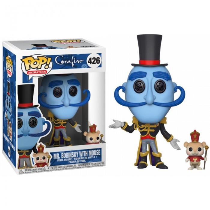 Funko Pop! Coraline Mr. Bobinsky with...