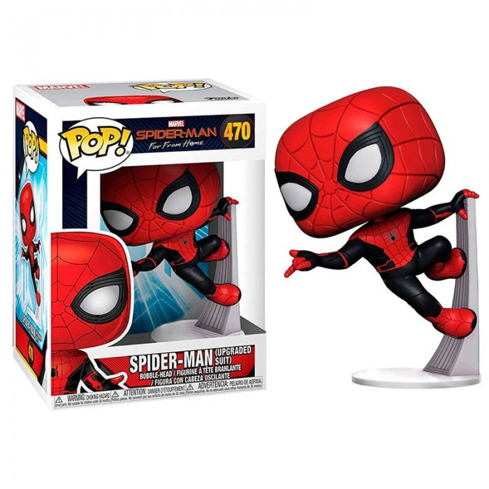 Funko Pop! Spiderman Traje Mejorado -...