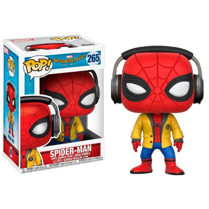 Funko Pop! Spiderman con Auriculares...
