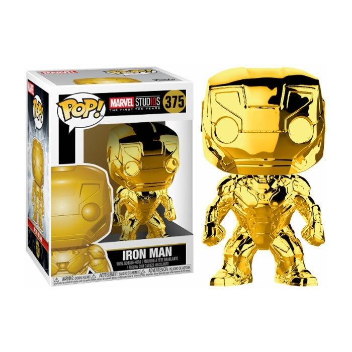 Funko Pop! Iron Man Dorado - Marvel...