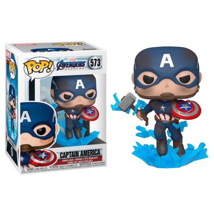 Funko Pop! Capitán América con Escudo...