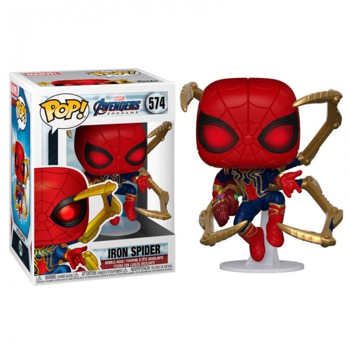 Funko Pop! Iron Spider con Nano...