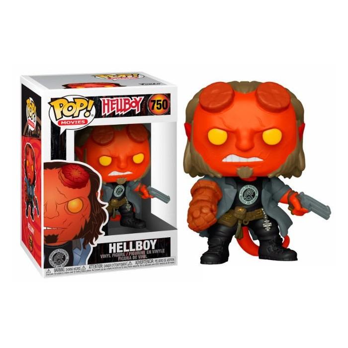 Funko Pop! Hellboy con Camiseta BPRD