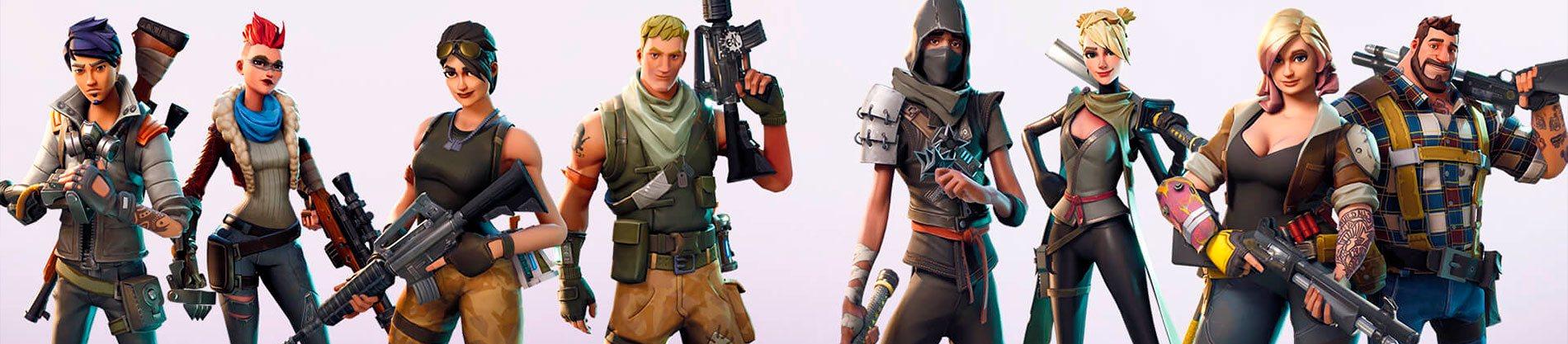 Los 10 mejores skins del videojuego Fortnite