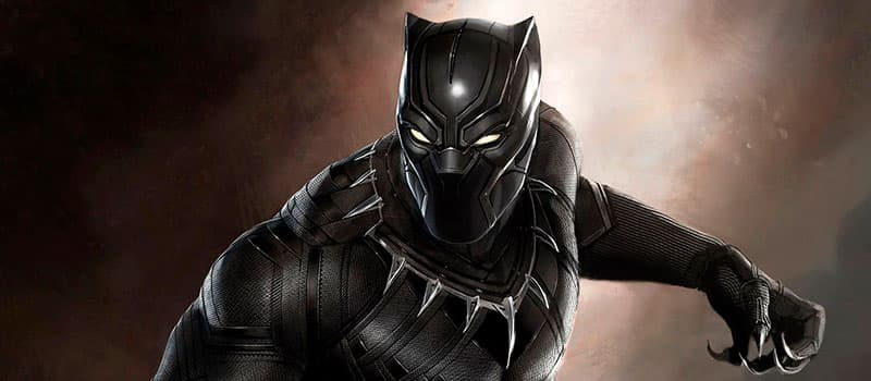 Superhéroe Black Phanter