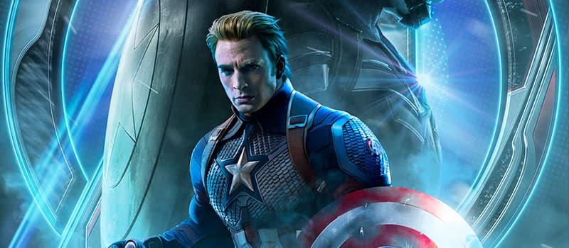 Superhéroe Capitán América