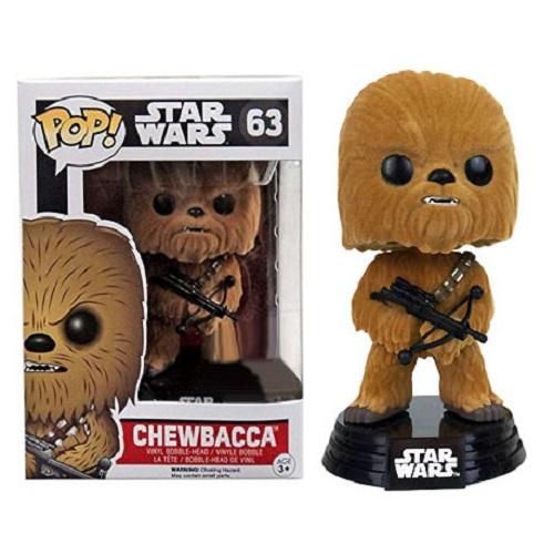 funko pop chewbacca flocked