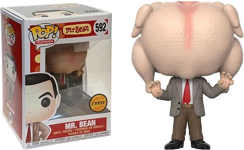 funko pop mr.bean pavo