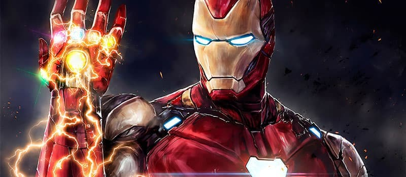 Superhéroe Iron man