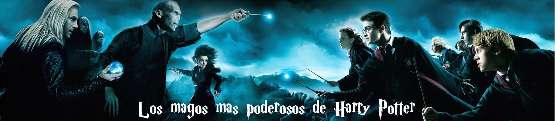 Los 10 magos más poderosos y fuertes de Harry Potter