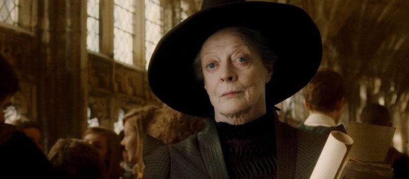 Bruja Minerva McGonagall