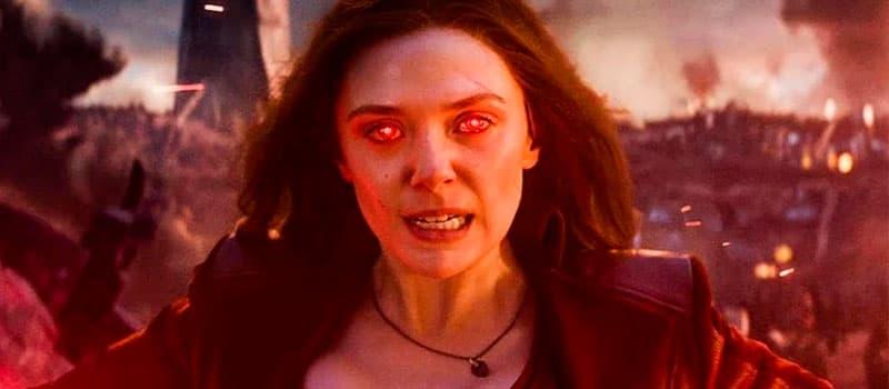 Bruja Escarlata como superhéroe más poderoso de Marvel